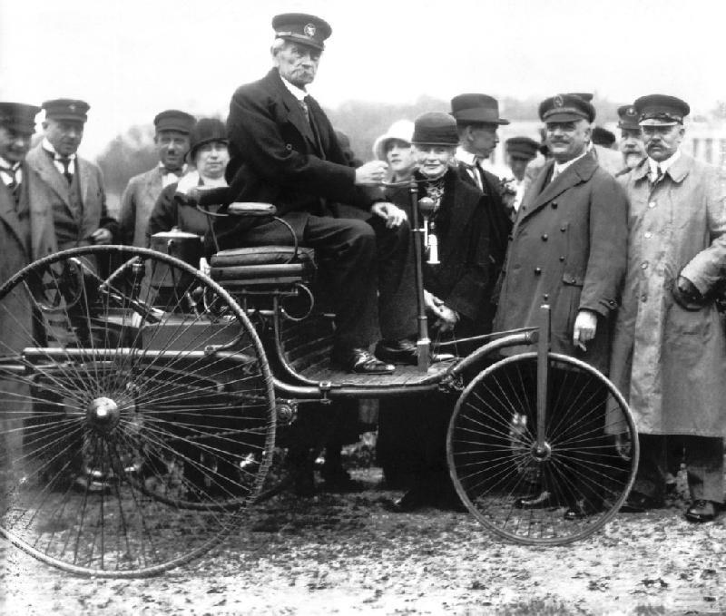 130. urodziny samochodu Carla Benza