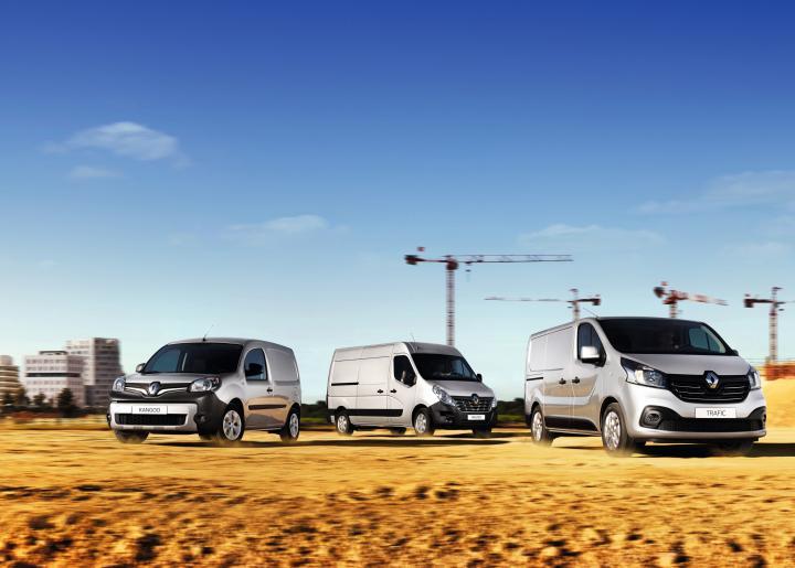 Dostawcze Renault na gorsze drogi