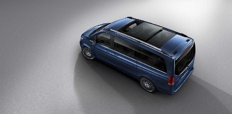 Van Mercedesa - Nowa Klasa V EXCLUSIVE