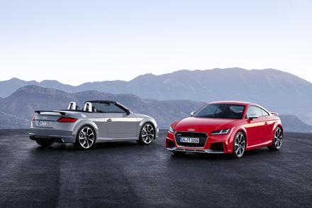 Nowe Audi TT RS Coupé i nowe Audi TT RS Roadster - silniejsze ni� kiedykolwiek