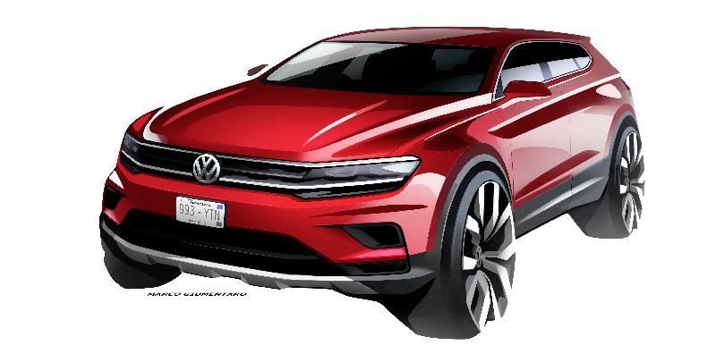 Nowy Przed³u¿ony Volkswagen Tiguan Allspace