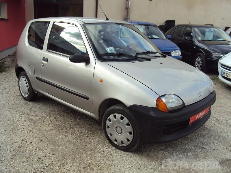 FIAT SEICENTO Fiat Seicento 2000r zarej
